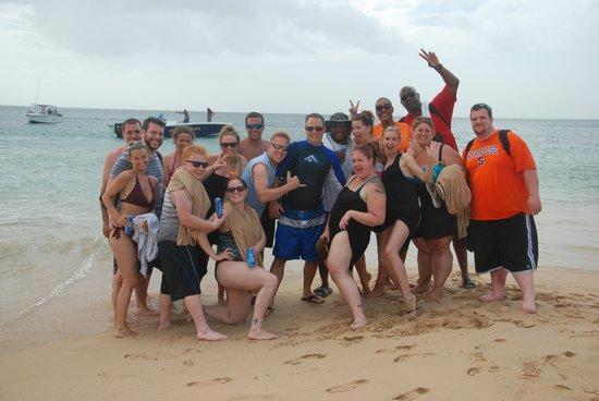 Sandals Regency La Toc Golf Resort and Spa : Joe Knows group!