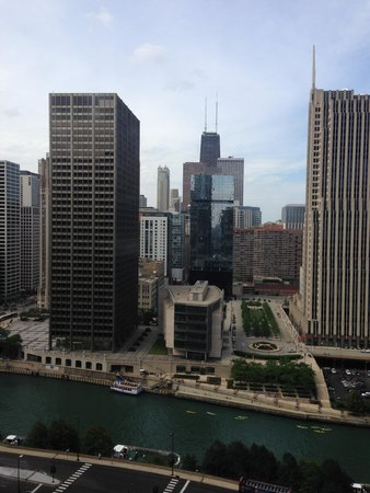Hyatt Regency Chicago : View from the room