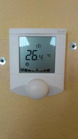 Parkhotel Praha: Schwache Klimaanlage