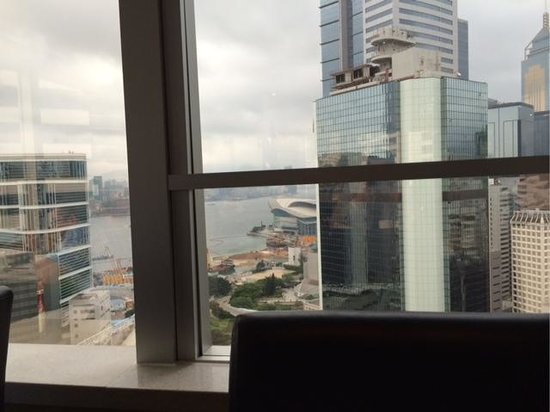 JW Marriott Hotel Hong Kong: View from Lounge 1