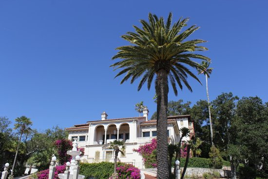 """Hearst Castle: One of the """"cottages."""""""