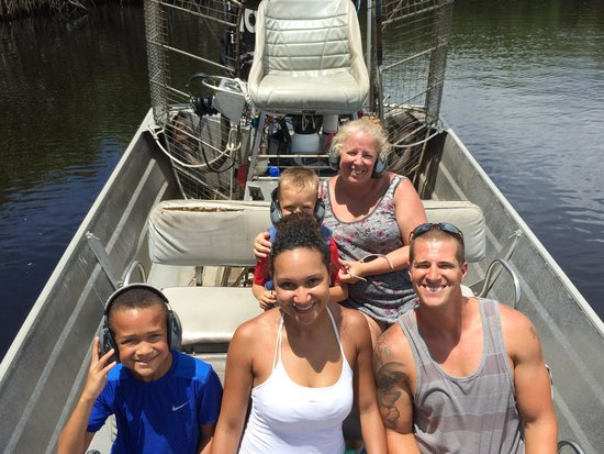 Captain Jack's Airboat Tours: Captain Javier