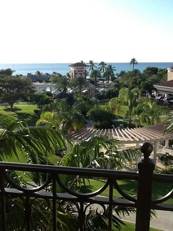 Sandals Grande Antigua Resort & Spa: great view from the rooms' balcony