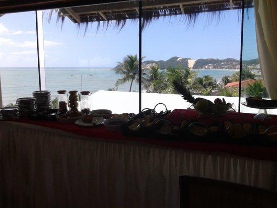 Araca Praia Flat Beira Mar: Cafe da manhã
