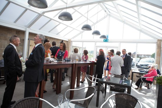 Horsley Lodge: Drinks Reception in the Atrium
