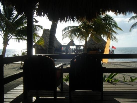 Ramon's Village Resort: looking at the dock