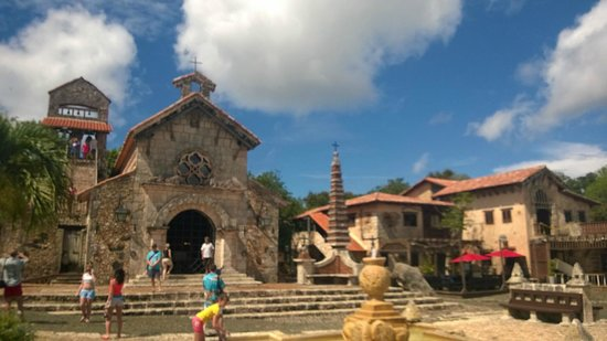 Altos de Chavon: capilla