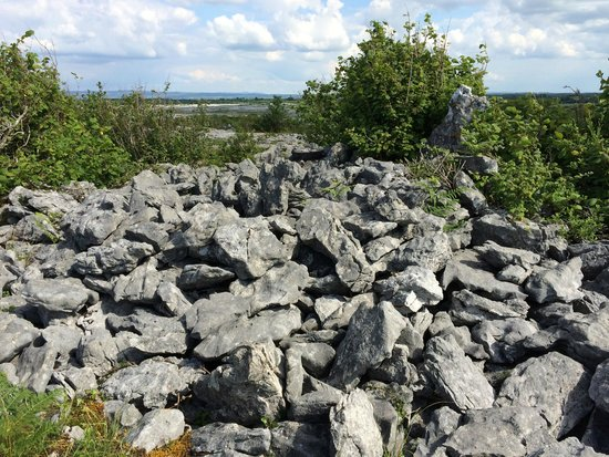 "Heart of Burren Walks: The ""pile of rocks"" -:)"