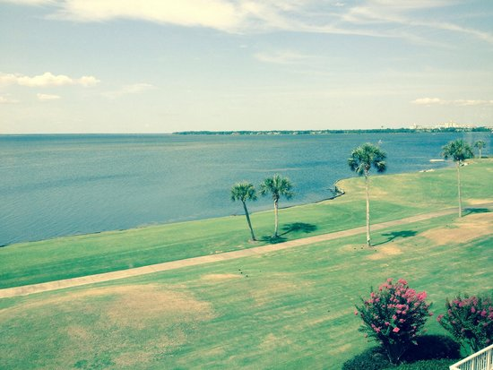 Sandestin Golf and Beach Resort: View from Players Club complex on the bayside