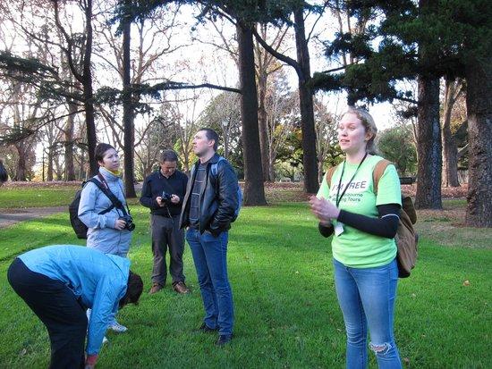 I'm Free Walking Tours: Flick at Carlton Gardens