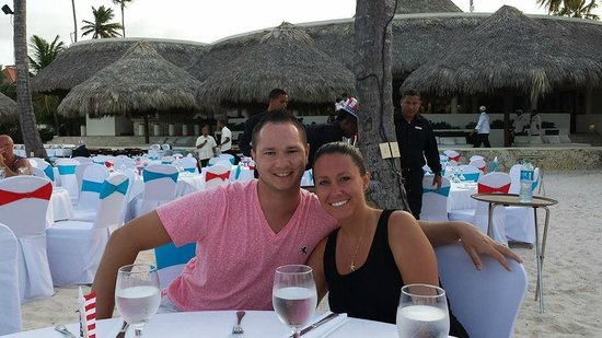 Paradisus Palma Real Golf & Spa Resort: 4th of July Dinner