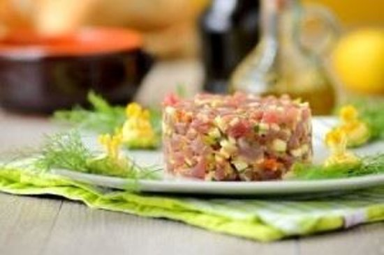 Belgian Beer Bar/restaurant: Tuna tartare