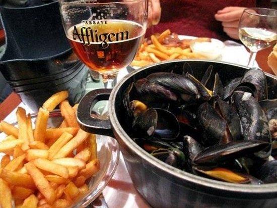 Belgian Beer Bar/restaurant: Mussels with belgian beer