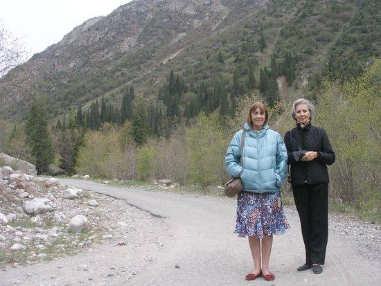 Ala-Archa Gorge: en los senderos