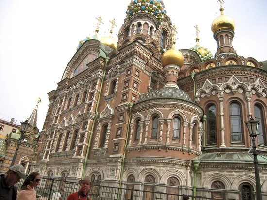 UlkoTours -Day Tours: Church of the Spilled Blood, St. Petersburg
