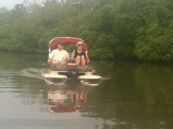 Backwater Adventure : Motorized Catamaran !