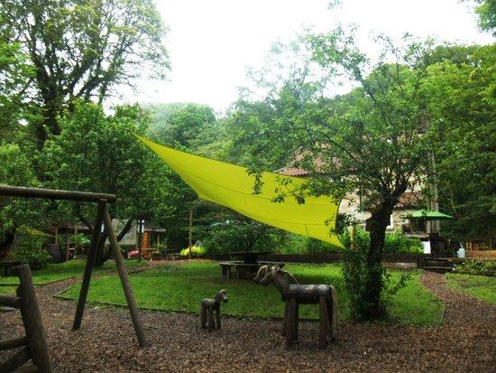 Falling Foss Tea Garden and Waterfall : Falling Foss tea gardens