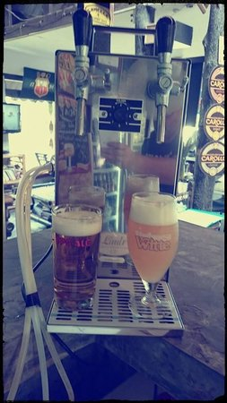 Belgian Beer Bar/restaurant: Draft belgian beer