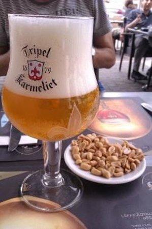 Belgian Beer Bar/restaurant: Triple karmeliet.