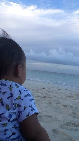 Playa Flamenco: O yes inspired baby at flamenco beach!