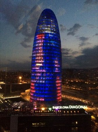 Novotel Barcelona City : what a view!