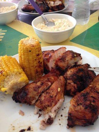 Ferron's Jerk Chicken: Hmmmmmmmmm  Juicy Hot Chicken Bro