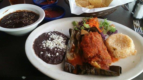 Veracruz Cafe: Mole on the side!!!