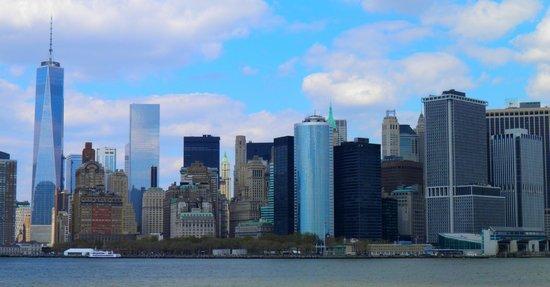 Staten Island Ferry: New York vu du traversier