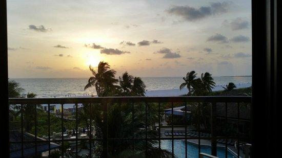Hilton Marco Island Beach Resort : View from balcony of Room #718
