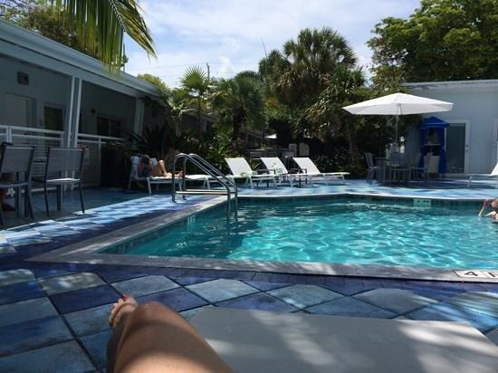 Orchid Key Inn: orchid key pool