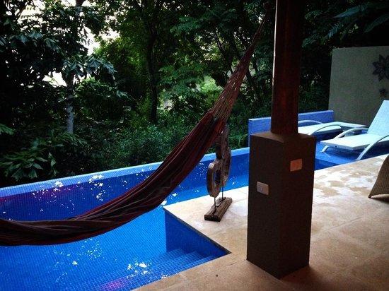 Casa Chameleon Hotel Mal Pais: Pool at Villa Pochote