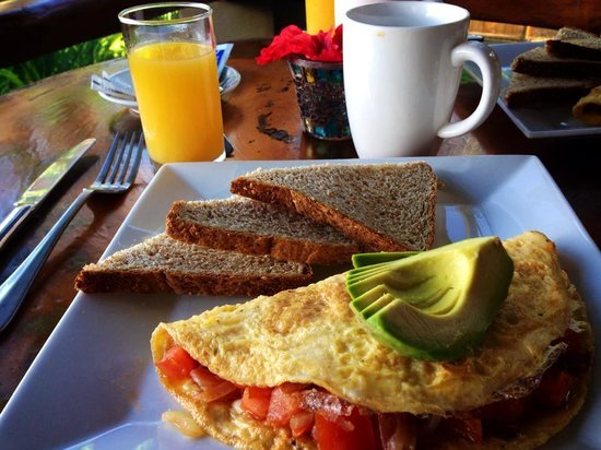 Casa Chameleon : Delicious breakfast