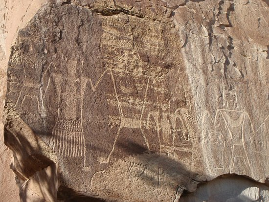 McConkie Ranch : More petroglyphs