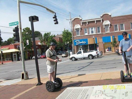 Segway, Bike & Stroll: Three Trails Monument, KC