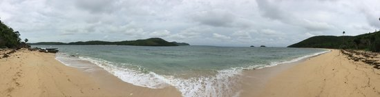 Coral Bay Beach & Dive Resort : This beautiful beach is just 10 min walk through the mangrove