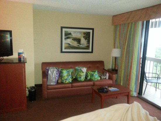 BEST WESTERN Lake Buena Vista Resort Hotel: 2 queen room with sofa