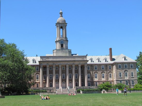 Penn State University : Old Main - July 5, 2014