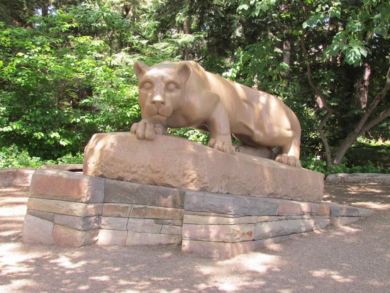 Penn State University : Nittany Lion Shrine - July 6, 2014
