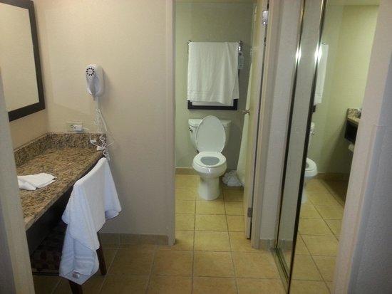 BEST WESTERN Lake Buena Vista Resort Hotel: bathroom