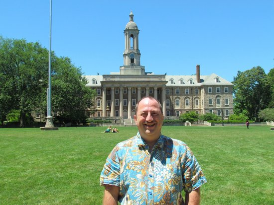 Penn State University : Jeff Filby at Old Main - July 5, 2014