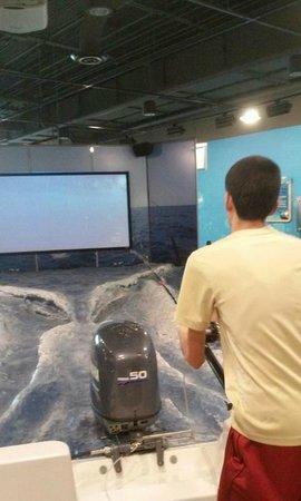 Go Fish Education Center: Fishing simulation