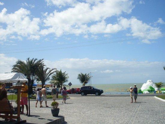 Brisa da Praia Hotel: vista linda... de frente p mar e pro TOA A TOA