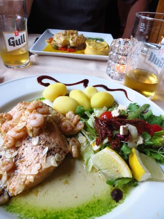 Salthusid: Trout dish