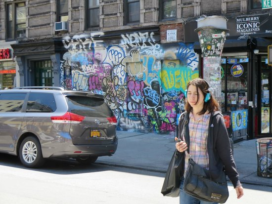 Family In New York : Grafitti