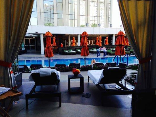 Mandarin Oriental, Las Vegas: Beautiful Cabana's