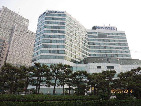 Novotel Ambassador Busan: BEST HOTEL IN BUSAN!