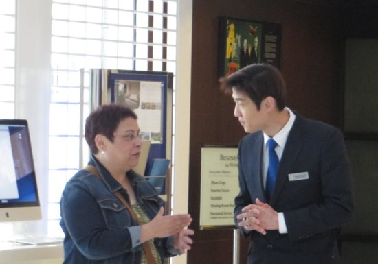 Novotel Ambassador Busan: PATIENT AND FRIENDLY STAFF