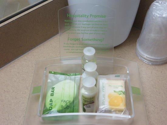 Quality Inn Gresham: Toiletries