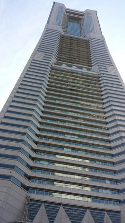Yokohama Landmark Tower Sky Garden : Landmark Tower!