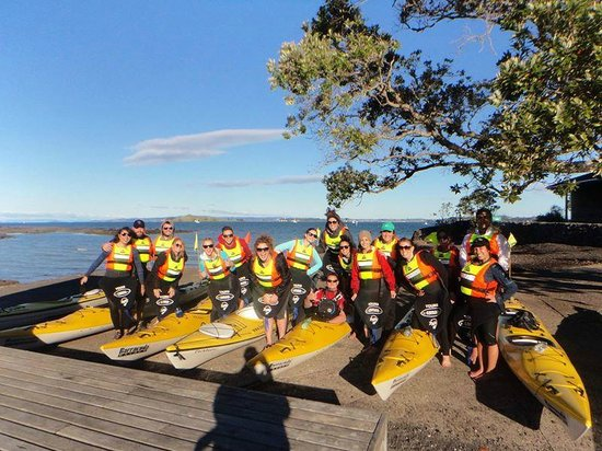 Fergs Kayaks Auckland: We had so much fun! Our guides were friendly and helpful.